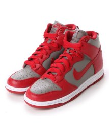 NIKE/ナイキ NIKE atmos WMNS DUNK RETRO ダンク レトロ QS (SOFT GREY/UNIVERSITY RED)/501800317
