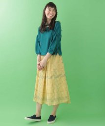 Jocomomola/チェックステッチデザインスカート/501878168