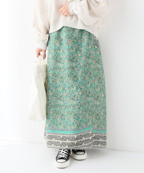 SLOBE IENA(スローブ イエナ)/ノスタルジックフラワー巻きスカート/19060912200010