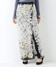 SLOBE IENA/SLOBE IENA Fi.m スカーフ柄スカート/501880148