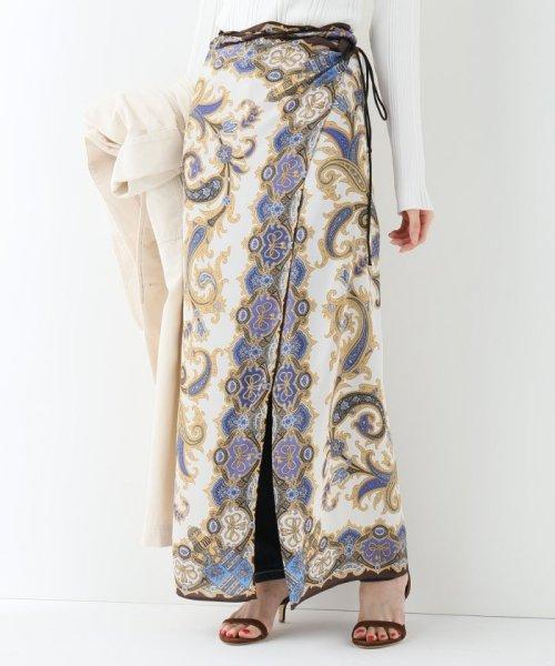 SLOBE IENA(スローブ イエナ)/SLOBE IENA Fi.m スカーフ柄スカート/19060912812010
