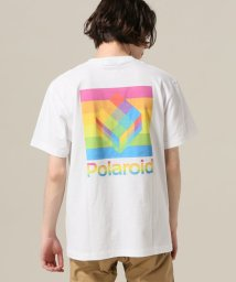 417 EDIFICE/POLAROID / ポラロイド 417 別注 BACK LOGO TEE/501880378