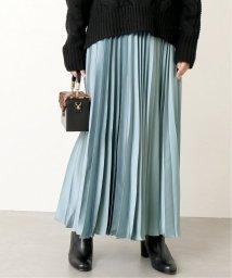 SLOBE IENA/《追加4》サテンプリーツロングスカート◆/501516369