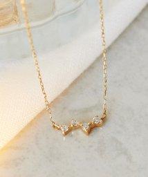 Phoebe/【K10】スパークルダイヤモンドネックレス/501602527