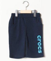 crocs(KIDS WEAR)/CROCSロゴハーフパンツ/501618091
