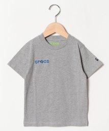 crocs(KIDS WEAR)/CROCSシンプル半袖Tシャツ/501618126