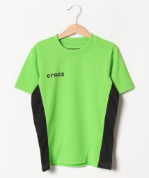 crocs(KIDS WEAR)/CROCSメッシュ素材半袖Tシャツ/501618135