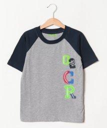 crocs(KIDS WEAR)/CROCSアップリケプリント半袖Tシャツ/501618136