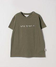 To b. by agnes b./【WEB限定】W984 TS ロゴTシャツ/501625154
