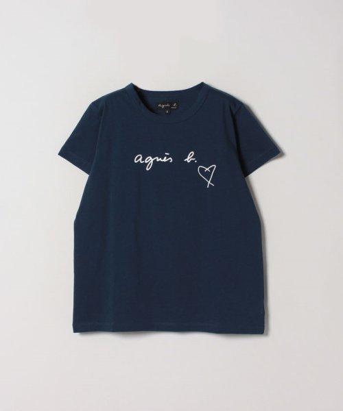 agnes b. FEMME(アニエスベー ファム)/【WEB限定】SBX4 TS ロゴTシャツ/2653SBX4E19