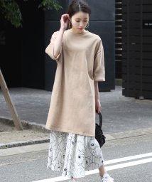 Bou Jeloud/◆サイズで変わる着丈2種類◆綿100%Tシャツワンピース/501712633