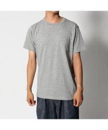 Rename/リネーム Rename ポケット付きTシャツ (グレー)/501814849