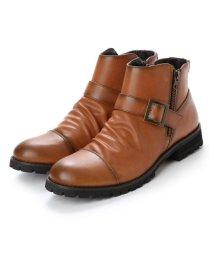 STYLEBLOCK/スタイルブロック STYLEBLOCK ベルト付きブーツ (ブラウン)/501839682