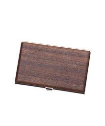 STYLEBLOCK/スタイルブロック STYLEBLOCK 木製カードケース (ウォルナット)/501840491