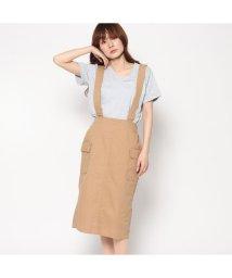 STYLEBLOCK/スタイルブロック STYLEBLOCK サス付きタイトスカート (キャメル)/501844088