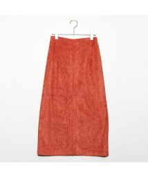 STYLEBLOCK/スタイルブロック STYLEBLOCK フェイクスウェードタイトスカート (テラコッタ)/501846362
