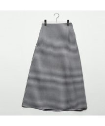 STYLEBLOCK/スタイルブロック STYLEBLOCK 先染めチェックロングスカート (グレー)/501846620