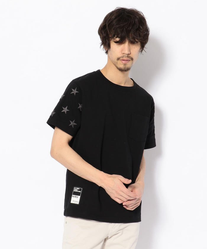 星条旗 ポケット Tシャツ/STARS & STRIPES POCKET T−SHIRT