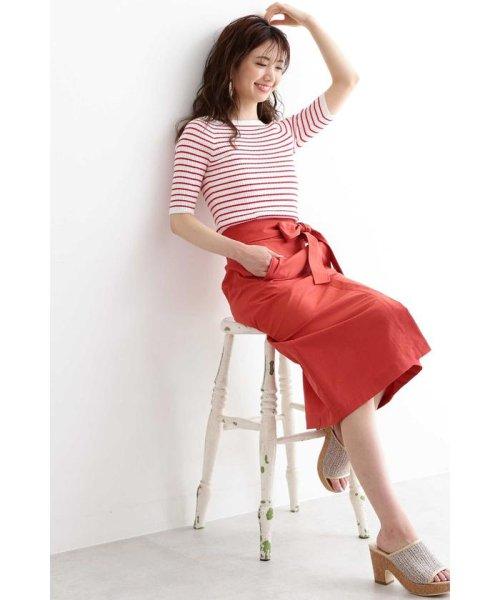 PROPORTION BODY DRESSING(プロポーション ボディドレッシング)/ユニオンテックツイルロングスカート/1219120400