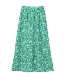 PROPORTION BODY DRESSING/《BLANCHIC》小花柄フレアマキシスカート/501880954