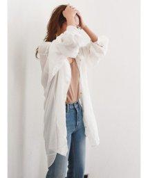 Ungrid/シアールーズシャツ/501881371