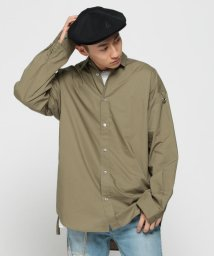 BEAMS MEN/VAPORIZE / Big Belted Shirt II/501882105