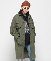 BEAMS MEN/VAPORIZE / Long Jungle Fatigue Jacket/501882539