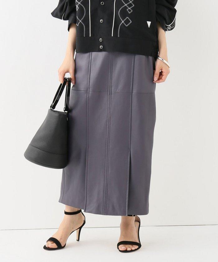 【JANE SMITH/ジェーンスミス】レザースカート