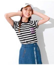 ANAP GiRL/ポケット付Tシャツ/501620079