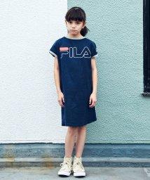 green label relaxing (Kids)/【ジュニア】〔WEB限定〕FILA(フィラ)ロゴワンピース/501620531