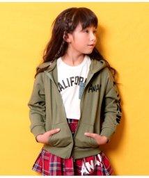 ANAP KIDS/手書きプリントパーカー/501624579