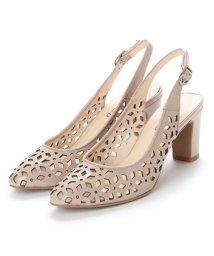 UNTITLED shoes/アンタイトル シューズ UNTITLED shoes バックバンドパンプス (ピンクベージュエナメル)/501863468