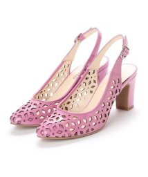 UNTITLED shoes/アンタイトル シューズ UNTITLED shoes バックバンドパンプス (ピンクエナメル)/501863469