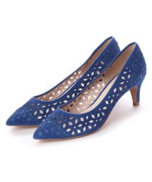 UNTITLED shoes/アンタイトル シューズ UNTITLED shoes レーザーカットパンプス (ブルースエード)/501863565