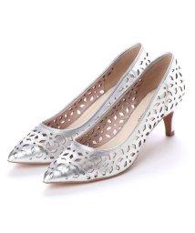 UNTITLED shoes/アンタイトル シューズ UNTITLED shoes レーザーカットパンプス (シルバー)/501863567