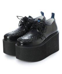 YOSUKE/ヨースケ YOSUKE 厚底ラバーソール (ブラック)/501875337