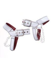 YOSUKE/ヨースケ YOSUKE [シューケア用品]チェーン付きベルト (ホワイト)/501877344