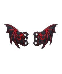 YOSUKE/ヨースケ YOSUKE [シューケア用品]悪魔の羽根[限定shop取扱いアイテム] (ブラックレッド)/501877349