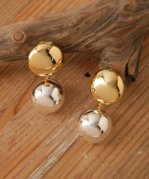 nano・universe/on the sunny side of the street/25Metal Pearl Round EarClips/501881218