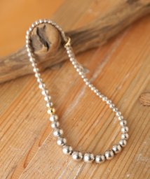nano・universe/on the sunny side of the street/Grdation Silver Pearl Necklace/501881219