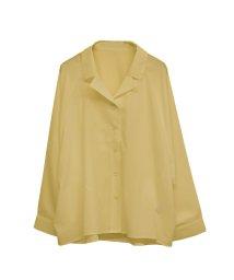 SocialGIRL/オープンカラービックシルエットオーバーサイズレトロシャツ/501882203