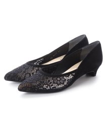 UNTITLED shoes/アンタイトル シューズ UNTITLED shoes チュールレースパンプス (ブラック)/501883439
