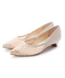 UNTITLED shoes/アンタイトル シューズ UNTITLED shoes チュールレースパンプス (ピンクベージュ)/501883441