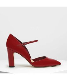 CHARLES & KEITH/ドルセイ メリージェーンヒール / D'orsay Mary Jane Heels (Red)/501883811