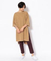 BEAVER/MANASTASH/マナスタッシュ Women's FLEX WIDE SLIT TEE ワイドスリットTシャツ/501886072
