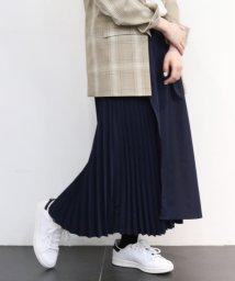 JOINT WORKS/フロントラップバックプリーツスカート◆/501886596