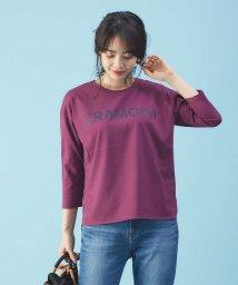 Rouge vif la cle/ロゴ入りロングTシャツ/501535819