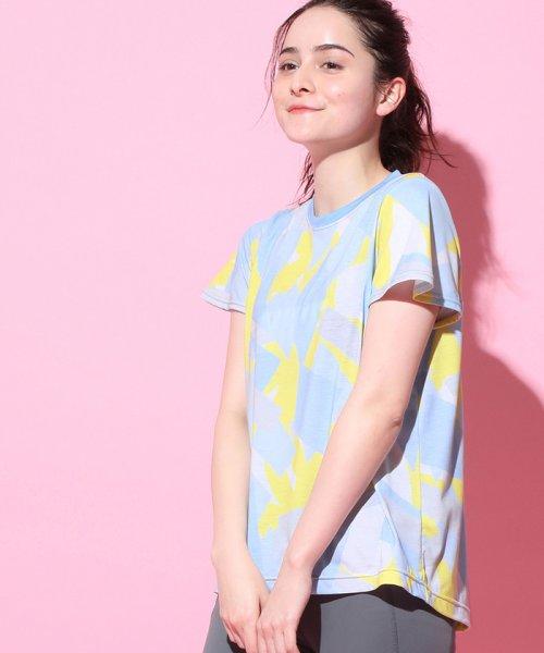 NERGY(ナージー)/ブロッキングPT Tシャツ/NJM19140