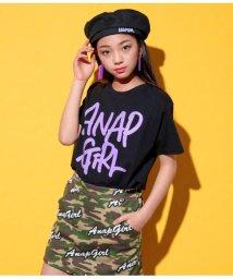 ANAP GiRL/手書きTシャツ/501880707