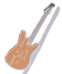 agnes b. FEMME/GL71 BROCHE ギターバッジ/501881070